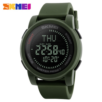 Watch Men 2017 Skmei Luxury and digital compass digital waterproof 5ATM watch with wholesale price