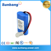 7.4v 2600mah high capacity li polymer battery pack for flash light rechargeable battery