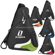 Promotional Over the Shoulder Sling Pack Drawstring bag