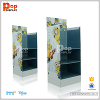 HOT Sales Customized free standing leather belt cardboard display unit case