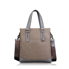 High quality man Single strap shoulder tote bag Business briefcase