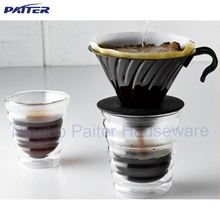 6OZ 180ml Double Wall Coffee Tea Glass Cup / Double Wall Glass Tumbler