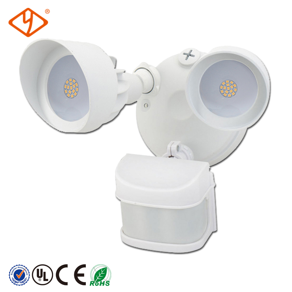 220 volt led light fixtures IP54 waterproof grade outdoor led garden light with motion sensor