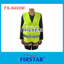 reflective motorcycle warning vest for motorcycle