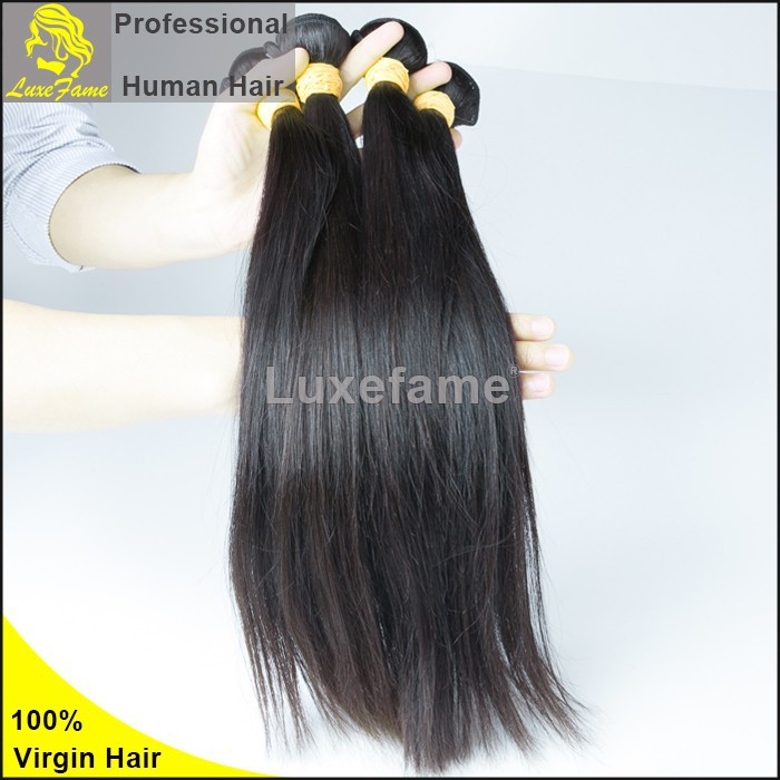 "Hot sale 100% virgin Indian human remy temple hair 20"" straight weft 100% pure natural indian"