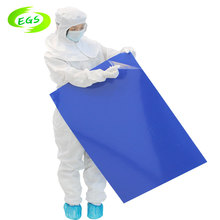 40um thickness washable tacky sticky mat for cleanroom