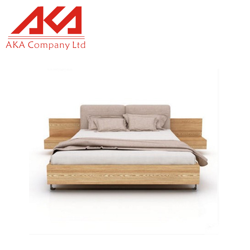 AKA Solid Wood Wooden Platform Bed