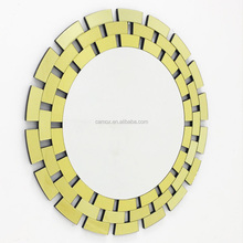 Hot sale round frame decoration hang wall mirror with factory price accept OEM