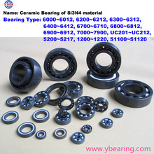 full ceramic ball bearing of silicon nitride materia 608 605 606 6000