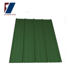 waterproofing used corrugated curved metal roof sheet