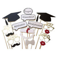 Graduation Party Photo Booth Props 2017