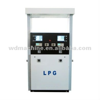 Glp Dispenser ( 4 flowmeter-4 nozzle-4 dispaly-4 teclado )