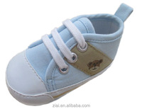 Good Quality Soft Light Blue Casual Baby Shoes