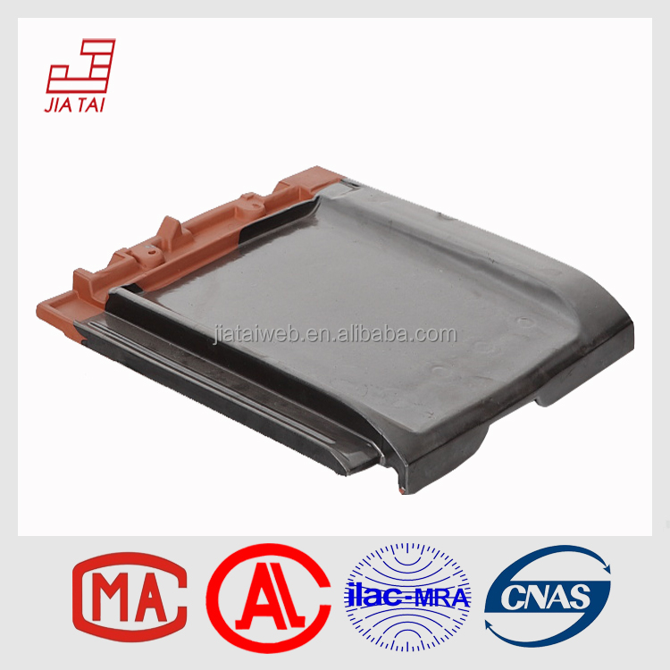 FT-850 roofing material solar power plain clay roof tiles