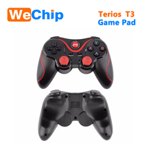New! Terios t3 gamepad wireless Bluetooth Controller BT3.0 T3 Joystick Gamepad add smart phone Holder for Mobile Phone Tablet