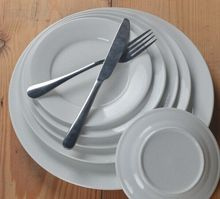10 inch hotel used white square porcelain flat dinner <strong>plate</strong>