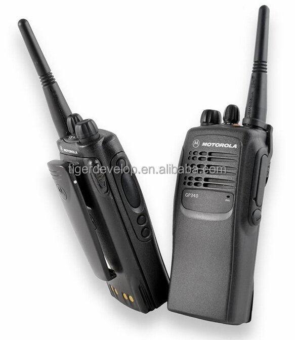 Professional best price GP340 handheld vhf uhf 5w radio for motorola good quality walkie talkie