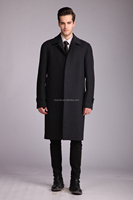europe size hot sale fashion quality classic mens wool duffle coat grey