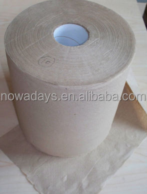 Toilet tissue paper recycled for dispenser