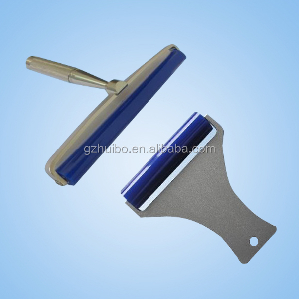 Anti-static dust removing roller, washable sticky cleaning silicon roller