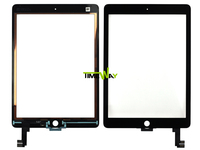 Replacement100% Tested Original For iPad 6 Air 2, New Touch Screen for iphone ipad air 2 Digitizer Black Color Repair Parts
