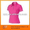 High Quality cheap Cool Dry Fit Slim fit Polo t-Shirt For Women
