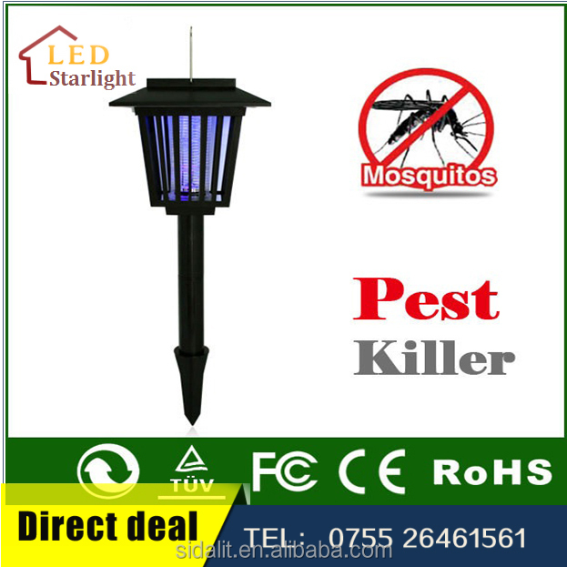 Best rechargeable solar insect killer fluorescent lamp