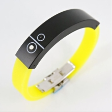 vibrating bluetooth 2.0 bracelet wrist band for mobile phone universal bluetooth bracelet free shipping