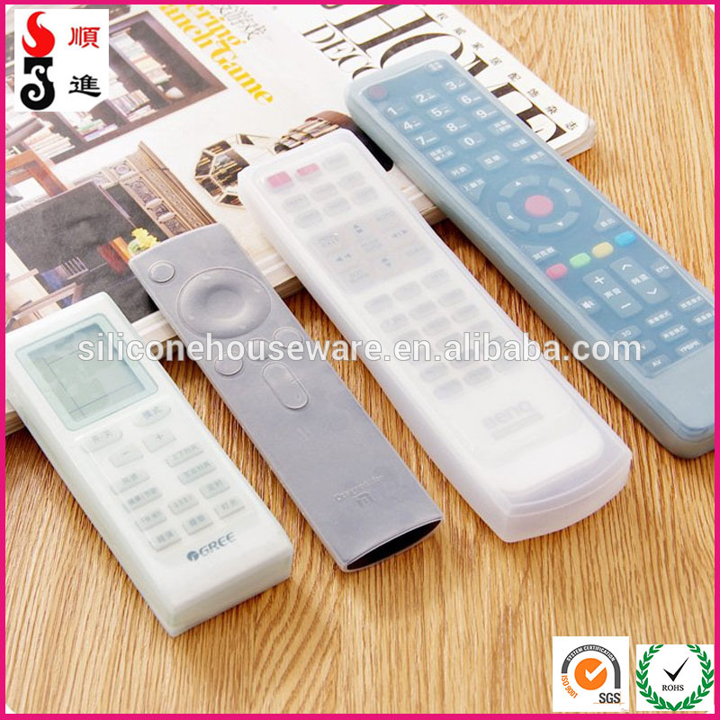wholes cases for remote control, water dust proof remote control sleeves, silicone tv remote control case