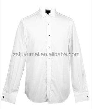 White no iron alibaba business men shirt cotton polyester for No iron cotton shirts