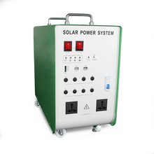 1 hour backup time 1000w solar energy system