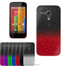 3D Crystal Rain Drop Design Hard Case Cover For Motorola Moto G