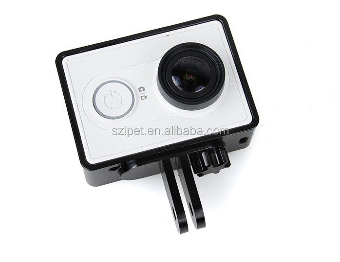 New Aluminum Frame for Xiaomi Yi Sport camera,high quality xiaoyi aluminum frame accessories