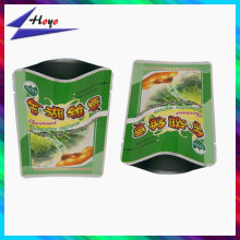 printed side seal packaged nuts and snacks pouch