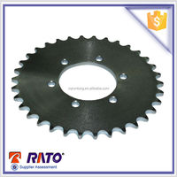 Motorcycle spare parts universal motorbike sprocket and chain