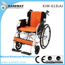 Aluminum manual wheelchair steel wheelchair kid wheelchair
