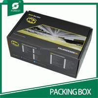 STANDARD SIZE CORRUGATED SHOES PACKAGING BOX WITH PRINT