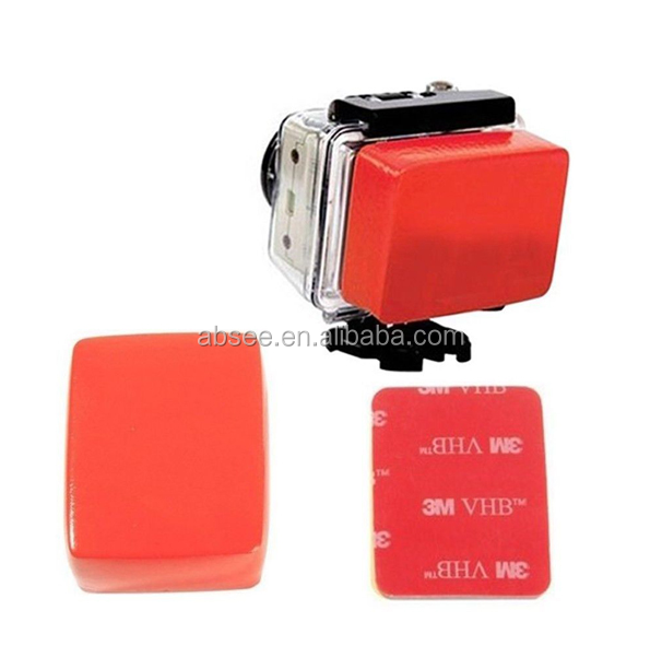 2015 Wholesale Camera Floaty + Back cover +3 M adhesive tape for gopro hero 3/2/1. Action Camera Accessories
