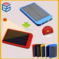 2600Mah Polycrystalline Silicon Portable Power Bank Solar Mobile Phone Charger