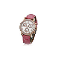 Swiss quartz movement watch diamond watch quartz female table with special feature
