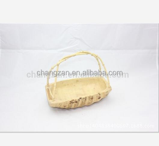 Bamboo root carving party portable bucket creative ornaments
