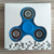 Instock Tri Finger Spinner Toy With Fast Flashing
