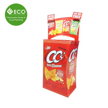 Top Popular Cardboard Nuts Display Dump Bin Stand For Pistachios