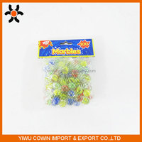 colorful Toy glass marbles, round glass ball
