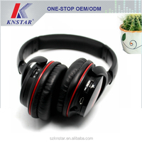Wireless bluetooth headphone with build in mp3 player and FM radio