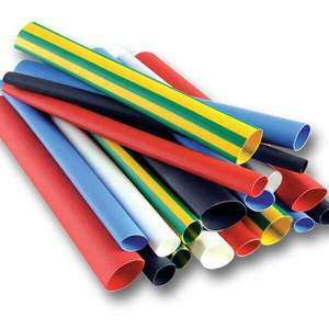 High Quality Heat Shrink Tubing PE Material Multi Color Pack of 100 Meters Per Roll