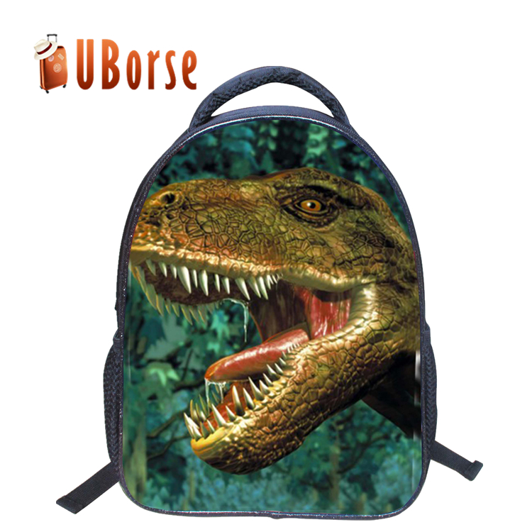 2017 Newest Boys 3D Dinosaur Animals Backpack Girls Cute School Backpacks Children Printing Schoolbag Kids Picnic Bagpack