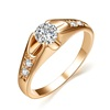 Ally express cheap wholesale ring, White Gold Plating smart rings,fashion gold men's ring