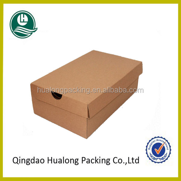Recycled cardboard shoe box wholesale