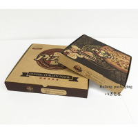 Aluminum Foil Pizza Box Pack Solution for Hot Food